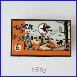 ALL HAND PAINTED jewelry box Halloween vintage cooky cookie cutters ooak Disney