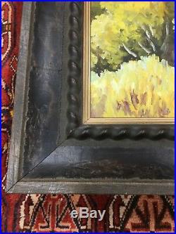 Arthur Selander Mt. Hood from Hood River Valley Oregon Landscape Painting Vtg