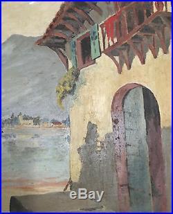 Cecil Rochfort Doyly-John Original Vintage Oil Painting Signed Framed