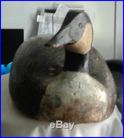 Crisfield Orig Paint Goose Decoy Signed Dated 1948 by Renown Lem & Steve Ward