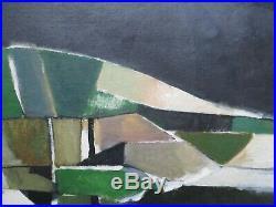David Wade Vintage Modernist Painting Abstract Expressionism Uk Landscape Rare