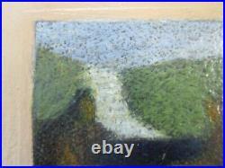 Edgar Hatten Painting Vintage Impressionist Expressionist Modernist Listed 78