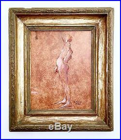 GAY INTEREST Contemporary Male Nude Painting- Original Signed LGBT