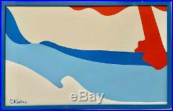 GEORGIA O'KEEFE Style Vintage 1960s Abstract Nudes Landscape Mid Century Modern