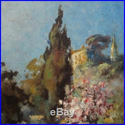 Gabriel Breuil (1885-1969), Vintage French Impressionist Painting, Provence