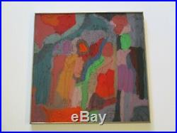 Gary Cantor Ca Vintage Contemporary Painting Modernism Abstract Expressionist