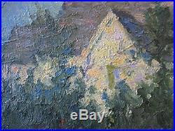 Harold Hughes Painting American Impressionism Vintage Landscape Antique Home