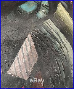Hugo Scheiber Original Rare Oil Painting Hand Signed Vintage