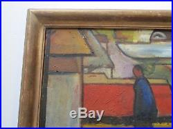 Important Wpa Era Painting Expressionism Modernism Regionalism American Vintage