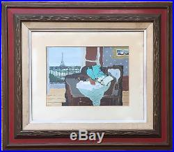 JEAN DE GAVARDIE Original French Vintage Mid-Century Signed Painting LISTED