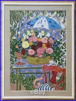 JOHN BOTZ Original Signed Vintage California Painting LISTED