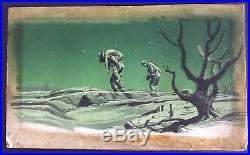 J. R. BINGHAM Original Listed Signed Vintage Illustration War Sat Eve Post 1947
