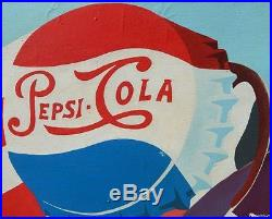 LISTED Robert Gordy Large Vintage Pop Art Pepsi Signed Oil Painting NO RESERVE