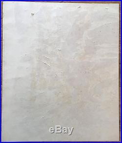 Lee Krasner Original Oil Rare Hand Signed Vintage