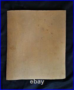 Leonora Carrington drawing on paperboard, vintage, rare