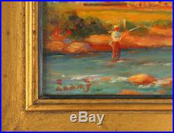Lily Osman Adams RCA (18651945) Canadian Listed Vintage Oil/Panel Landscape