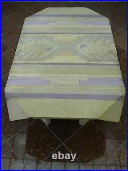 MAGNIFICENT ICONIC 80's SIGNED ANNE HERBST HAND CRAFTED SCULPTURED COFFEE TABLE