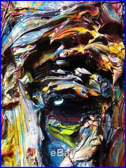 Modernoriginaloilpaintingvintageimpressionist Art Realism Signed Abstracta