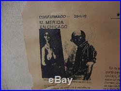 Manuel Munoz Merida Antique Painting Vintage 19th Century Signed