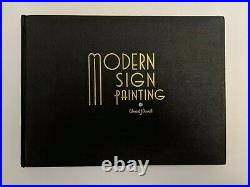 Modern Sign Painting by Edward J. Duvall (1949) Vintage Book RARE