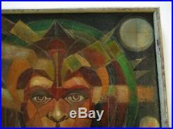 Mystery Painting Surrealism Cubism Sculpture Portrait Pop Op Modernism Vintage