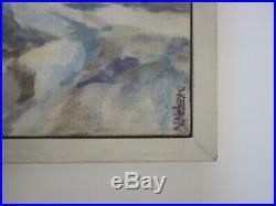 Nelson Signed Vintage California Painting American Impressionist Coastal Beach