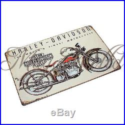 New Motorcycle Poster Painting Vintage Metal Tin Sign Pub Bar Wall Decor CA