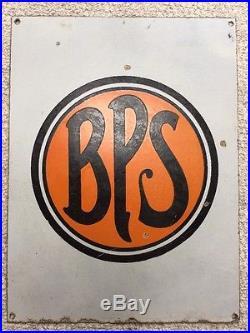 ORIGINAL VINTAGE BPS Paint PORCELAIN Advertising SIGN PATTERSON SARGENT PAINTS