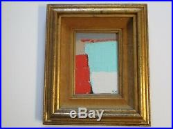 Painting Abstract Modernism Expressionist Non Objective Vintage Contemporary