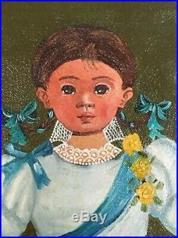 Pair Of Original Vintage Agapito Labios Paintings