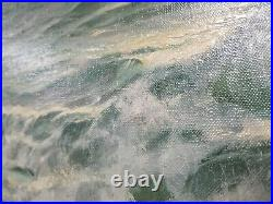 Patrick von Kalckreuth (1898-1970) Original Ocean Oil Painting