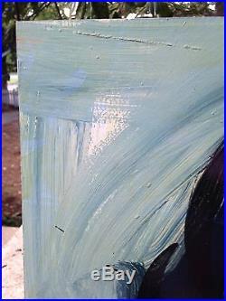 Peter Keil Vintage Original Signed Oil Painting