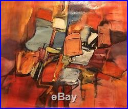 Philippine Painting Vintage oil Signed Painting 1957