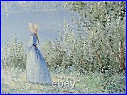 Pierre Du Bois Museum Quality Exquisite Art Vintage Oil Painting