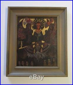 Przybys Vintage Painting Surreal Modernism Iconic Angels Deco Expressionism