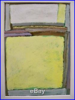 ROTHKO Style Abstract Expressionism Large Vintage Signed Original Oil SF Artist