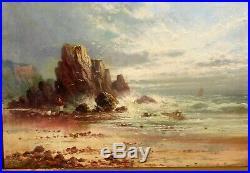 Sidney Y Johnson, vintage O/C circa 1900. Listed early British artist, 10 x 14