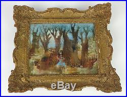 Superb Vintage Impressionist Oil Painting- Signed French Russian Antique Canvas