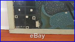 Very Early Signed, Original, Mose Tolliver Painting