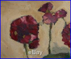 Vintage French Fauvist Still Life Oil Painting Signed Derain