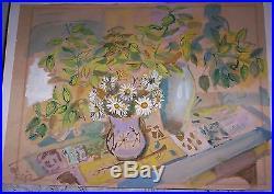 Vintage Orginiial Signed Nancy Wissemann-widrig Watercolor Painting