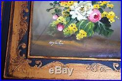 Vintage Original Oil Painting, Framed, Signed By Artist
