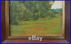 Vintage Russian A. Gritsai 1914-1997 Original Oil Painting Signed Listed
