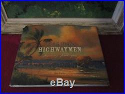 Vintage 1960's Sam Newton Florida Highwaymen, Upsom 27x21