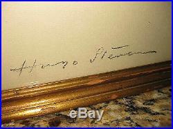 Vintage Artist Signed Henry Stevenson Pastel Oil Woman's Portrait Estate Find