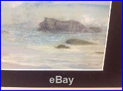 Vintage Coastal Scene Signed Hobson Pittman