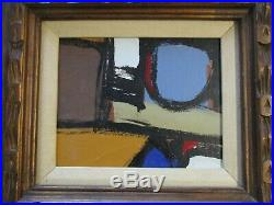 Vintage Contemporary Modernism Painting Non Objective Expressionism Abstract Art