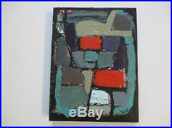 Vintage Contemporary Painting Abstract Non Objective Expressionism Modernism
