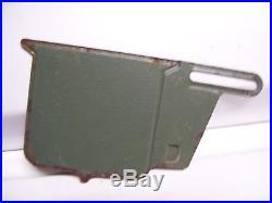 Vintage Ford original TAKE IT EASY license plate topper auto kit promo parts