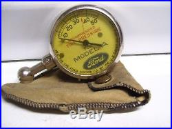 Vintage Ford original Tire tester gauge auto kit promo part model a t era 30s